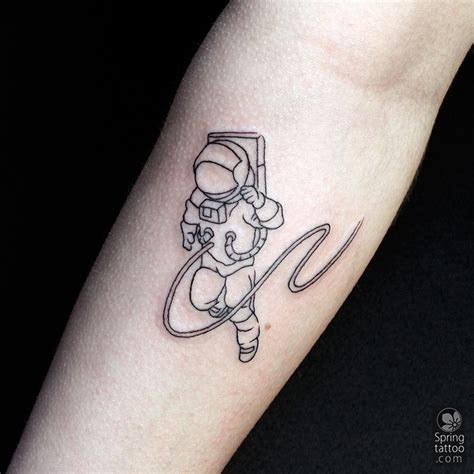 astronaut tattoo today s astronaut posted at http springtattoo