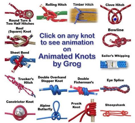 How To Make Knot - knots landing animated on how to tie a knot
