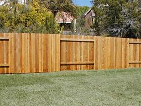 Wood fences austex fence and deck