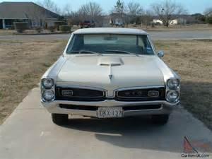Original Pontiac Gto 1967 Pontiac Gto Original Phs Documented