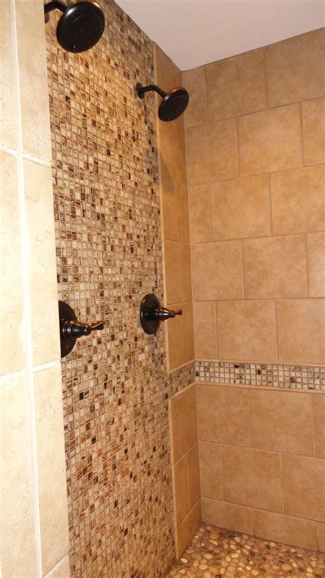 modern recycled glass tiles  bathroom ideas