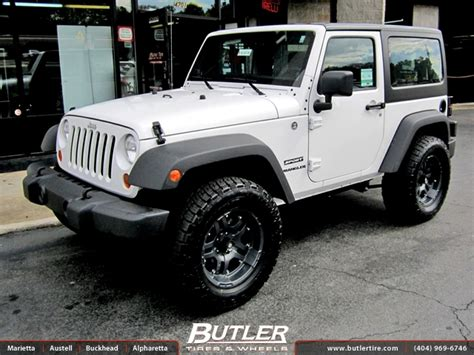 Jeep 18 Wheels Jeep Wrangler With 18in Atx Revolver Wheels Exclusively