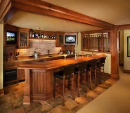 Basement Bar Designs A Collaborative Design Traditional Basement