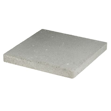 Lowes Patio Blocks by Shop Gray Square Patio Common 16 In X 16 In
