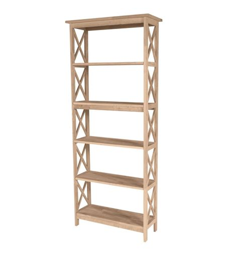 Bookshelves 30 Inches Height 30 Inch X Sided Bookcases Wood You Furniture