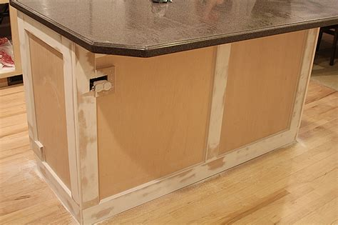 kitchen island molding how to add moulding to a kitchen island withheart