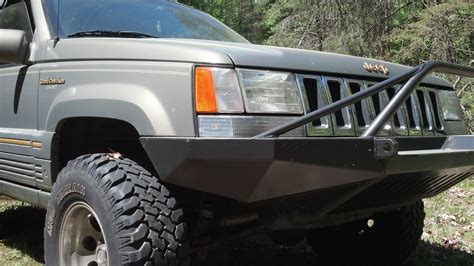 jeep grand prerunner jeep grand zj front winch bumper w pre runner