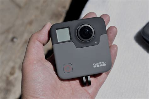 Gopro Fusion shooting 360 degree with a gopro is about to get epic with fusion