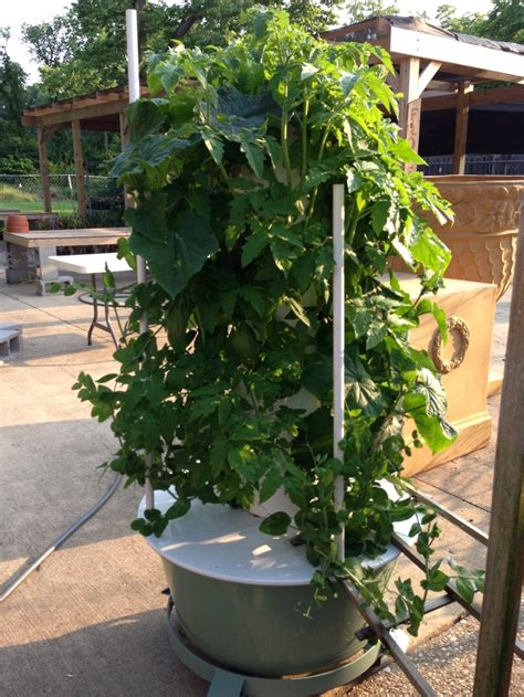 Vertical Garden Hydroponics Aeroponic Tower Garden Diy Crafts