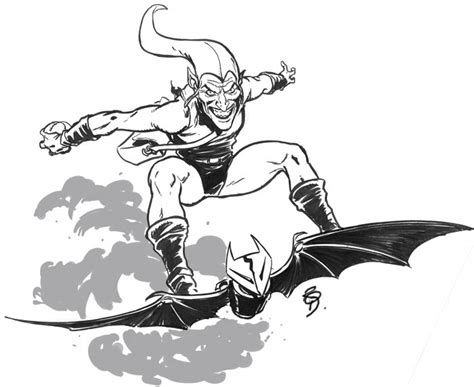 Green Goblin Coloring Pages green goblin coloring page az coloring pages