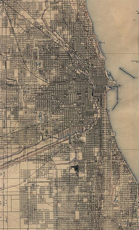 chicago map 1920 cook county illinois genealogy chicago illinois