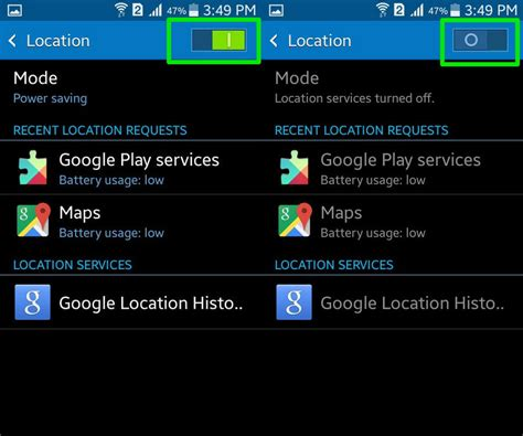 enable location services android how to disable location tracking android ios web drippler apps news