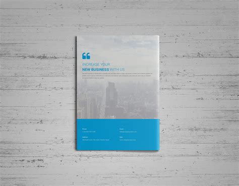 material design leaflet material design brochure template by nashoaib graphicriver