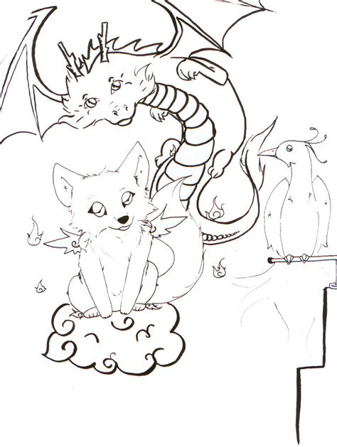 free printable wolf coloring pages for kids anime