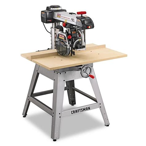 craftsman professional 22010 3 hp 10 quot radial arm saw