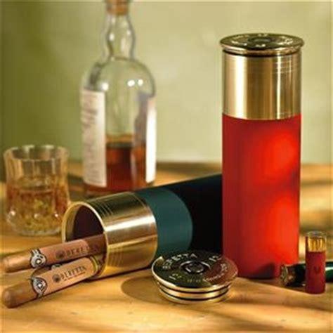 Kung Souvenir Setelan Kulot Smoke cigar shotgun shell humidor great idea for stuffer or gift for grandfather cigar