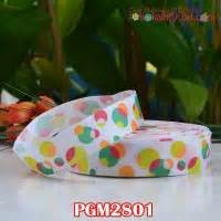 Pgm27 Pita Grosgrain Motif Payung 38 Inch grosgrain