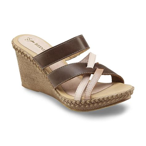 Sandal Wedges Wg14 Pink reindeer s manuela brown pink leather wedge sandal shoes s shoes s sandals