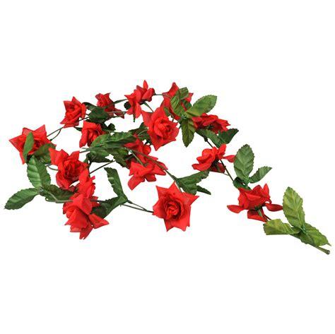 fiets bloemen hema bloemenslinger rood online kopen lobbes nl