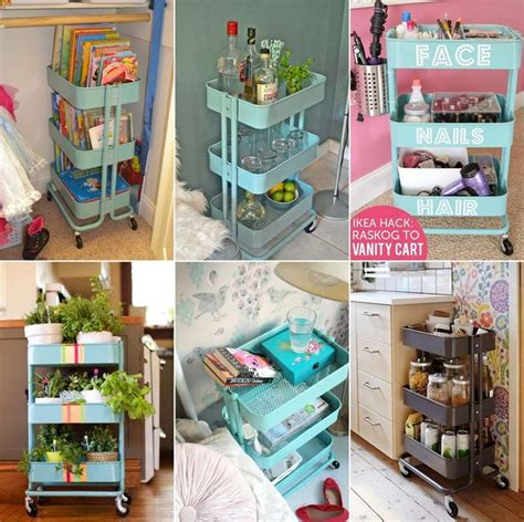 ikea cart hack 15 clever ikea rolling cart hacks that are simply awesome