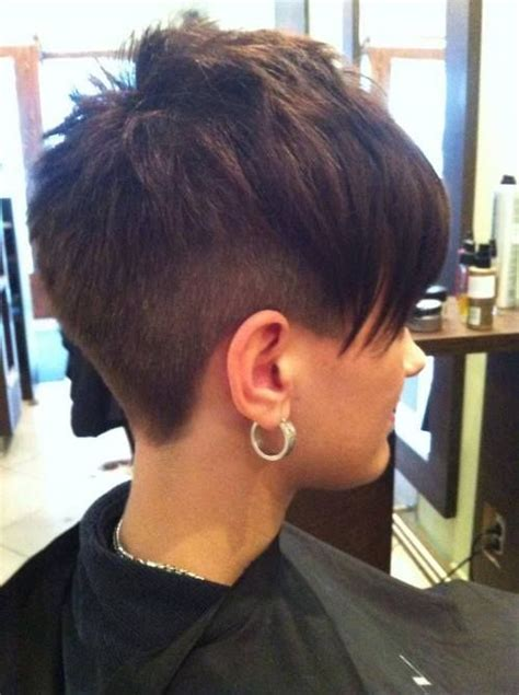 haircut with 12 clippers awesome asymmetric cut undercut style pixie luv the