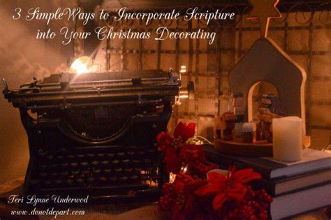 the truth about christmas decorations with bible verses simple ways to add scripture at do not depart
