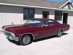 1965 chevrolet impala ss 2 door hardtop 79253