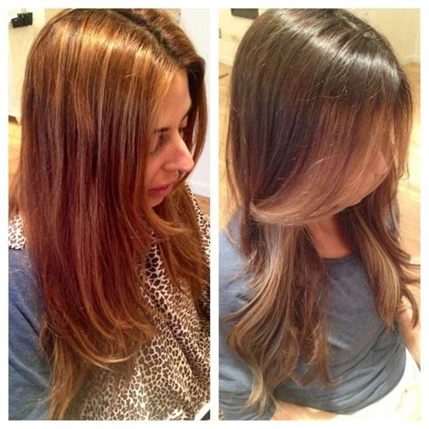 giuliana rancic debuts new golden brown hair color at the caramel brunette hair colour brown to blonde hair brown