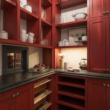 red kitchen pantry cabinet black barn pantry doors design ideas
