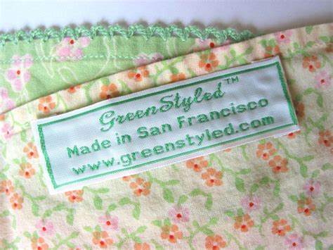Personalized Labels For Handmade Items - custom clothing labels personalized woven labels