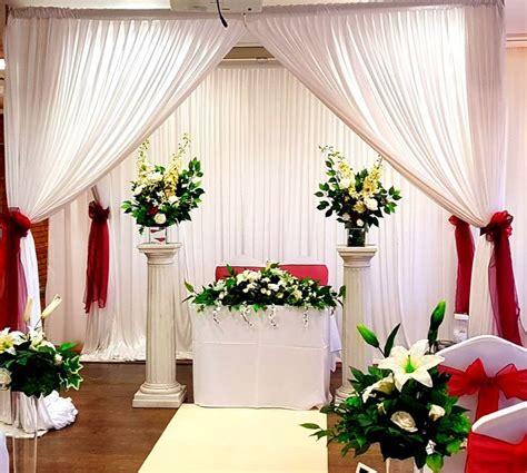 draped wedding canopy chuppah mandap