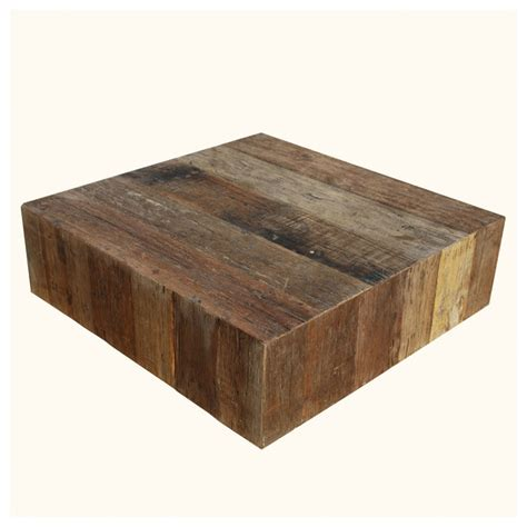 Coffee Table Box Appalachian Rustic Wood Square Box Style Coffee Table Rustic Coffee Tables San