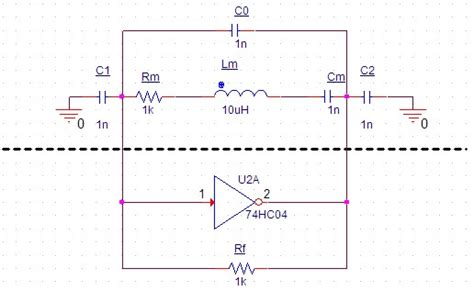 oscillator layout guide question about cmos inverter oscillator electrical