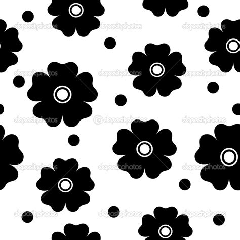 pattern simple black and white simple black and white flowers patterns www pixshark com