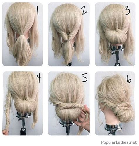 easy to make bun hairstyles cool messy low bun tutorial make up hair pinterest