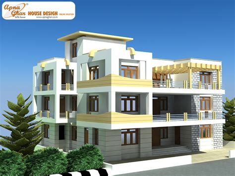 home design 3d 2nd floor independent floor design apnaghar house design