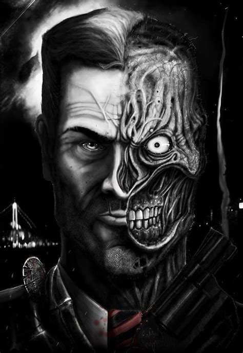 17 Best Images About Batman Two Face On Pinterest Drawings Of Joker Faces 2