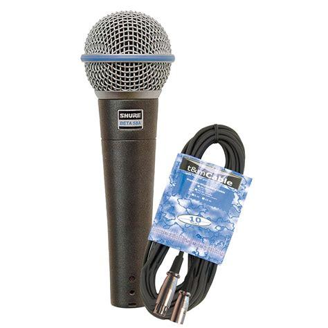 Mic Sure Beta58a shure beta 58a kabel set 171 microphone
