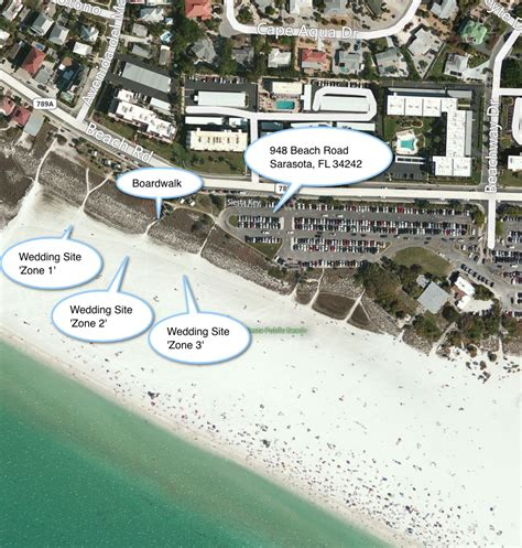 Siesta Key Beach Wedding Location in Sarasota