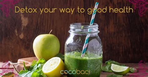 Detox Through Pulling by Time For A Detox Cocobaci Pulling