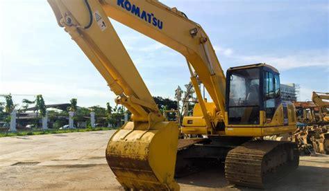Alat Berat Pc200 Komatsu Komatsu Pc200 7 Hydraulic Excavator Jual Beli Alat Berat