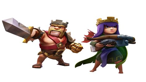 Clash Of Clans King clash of clans barbarian king and archer www