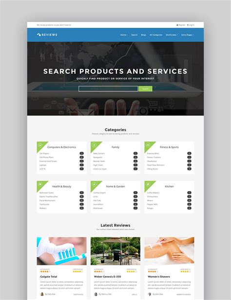 20 Best Wordpress Directory Themes To Make Business Websites 2017 Products Website Templates