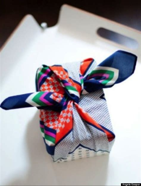 how to gift wrap a scarf 15 awesome alternatives to gift wrapping paper that you