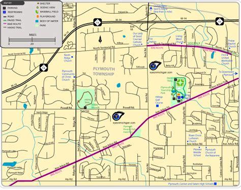 of state plymouth mi map of plymouth michigan michigan map