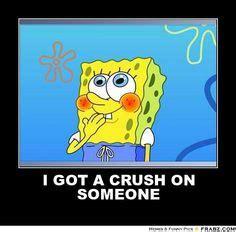 I Have A Crush On You Meme - spongebob on pinterest spongebob squarepants patrick