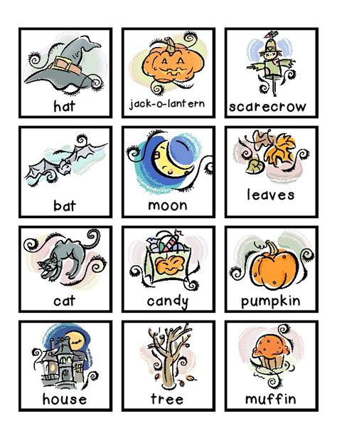 Free Noun Picture Cards