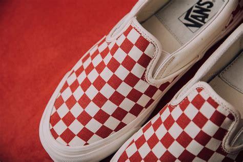 Harga Retail Vans Slip On Checkerboard vans slip on checkerboard white sneaker bar detroit