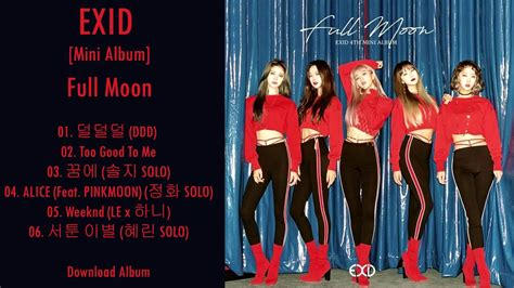 Download Mp3 Exid Ddd | mini album exid full moon mp3 download youtube