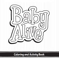Baby Alive Food Packet Coloring Pages